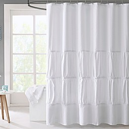 Mi Zone Mirimar Microfiber Shower Curtain