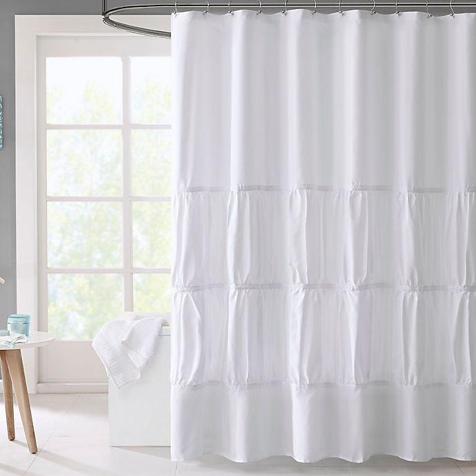 Alternate image 1 for Mi Zone Mirimar Microfiber Shower Curtain