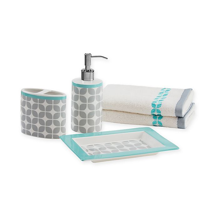 Intelligent Design Lita 5-Piece Bath Accessory Set | Bed ...