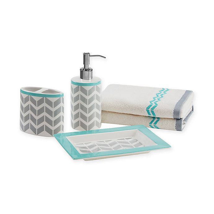 Intelligent Design Nadia 5-Piece Bath Accessory Set   Bed ...