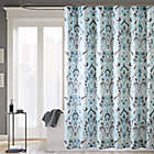 Madison Park Capris 72 Inch X Microfiber Shower Curtain In
