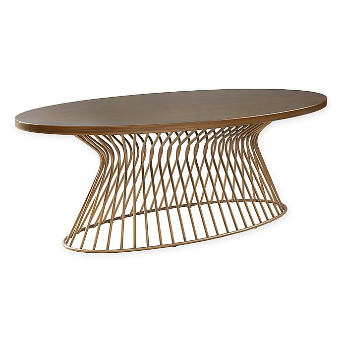 Alternate image 1 for INK+IVY® Mercer Coffee Table in Bronze