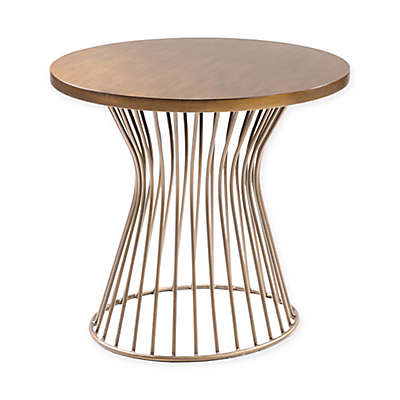 INK+IVY® Mercer End Table in Bronze