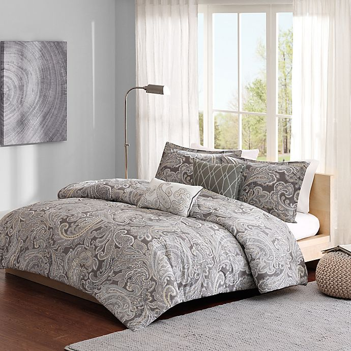 Alternate image 1 for Madison Park Ronan Duvet Cover Set