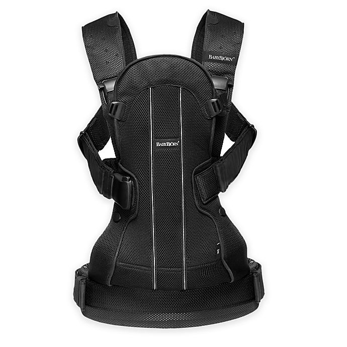 c7885d1c4b4 BABYBJORN® Baby Carrier We Air in Black Mesh