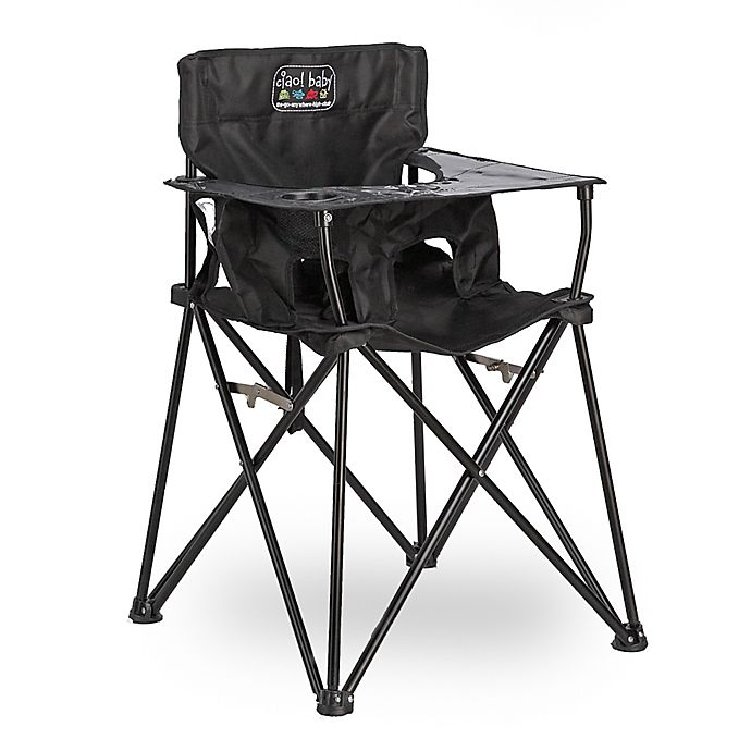 Alternate image 1 for ciao! baby™ Portable High Chair in Black