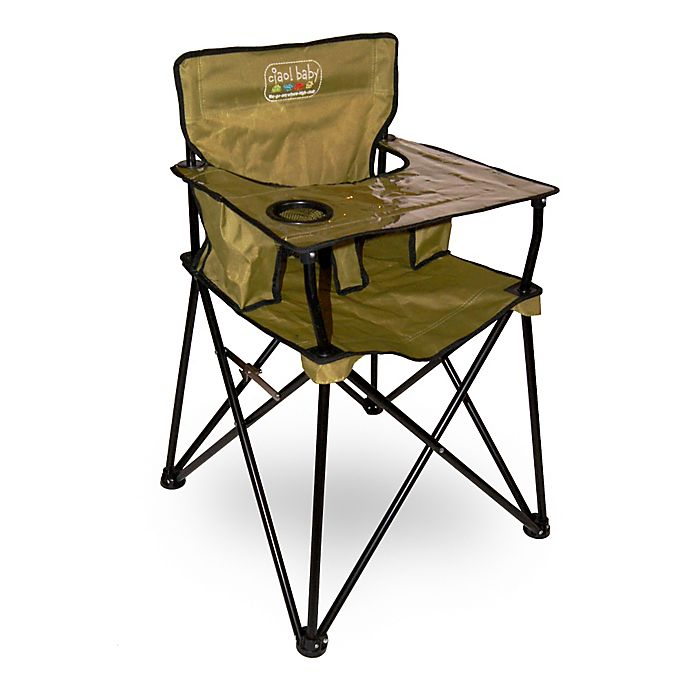 Superb Ciao Baby Portable High Chair In Sage Bed Bath Beyond Gmtry Best Dining Table And Chair Ideas Images Gmtryco