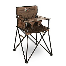 ciao! baby™ Portable High Chair in Chocolate Brown