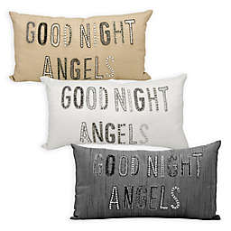 kathy ireland Home® by Nourison Good Night Angels Oblong Throw Pillow
