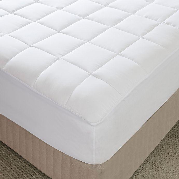 Alternate image 1 for Sleep Philosophy Highline 3M Microfiber Twin Mattress Pad in White