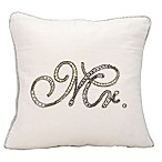 kathy ireland® Home by Nourison Beaded  Mr.  Square Throw Pillow