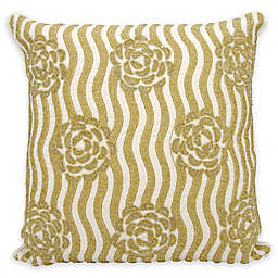kathy ireland Home® by Nourison Rose Garden Square Throw Pillow