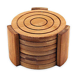 BergHOFF® Bamboo 7-Piece Coaster Set