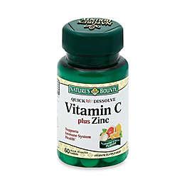 Nature's Bounty 60-Count Quick Dissolve Vitamin C Plus Zinc Natural Citrus Flavor Tablets