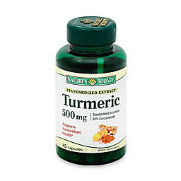 Nature's Bounty 45-Count Turmeric Extract 500 mg Capsules