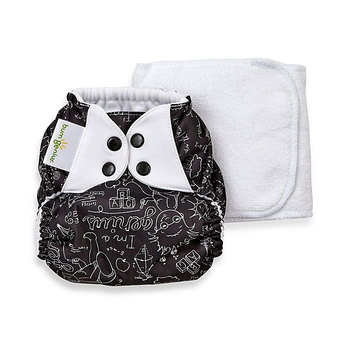 Alternate image 1 for bumGenius™ 5.0 One-Size Original Pocket Snap Cloth Diaper in Albert