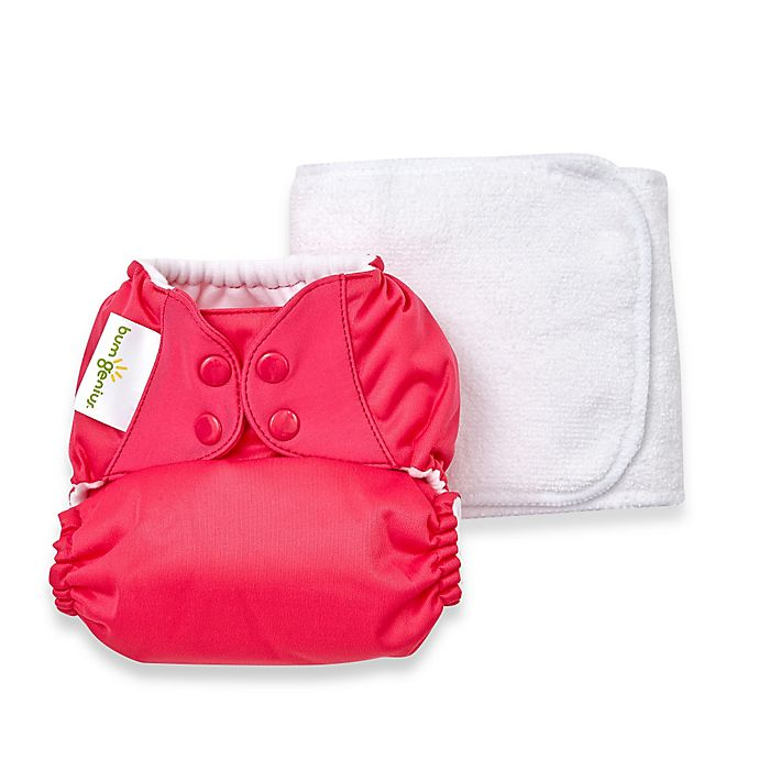 Alternate image 1 for bumGenius™ 5.0 One-Size Original Pocket Snap Cloth Diaper in Countess