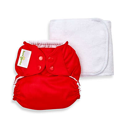 bumGenius™ 5.0 One-Size Original Pocket Snap Cloth Diaper in Pepper