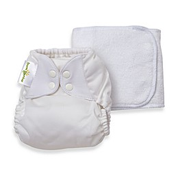 bumGenius™ 5.0 One-Size Snap Cloth Diaper in White