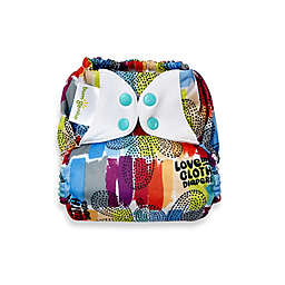 bumGenius™ Freetime One-Size All-In-One Snap Cloth Diaper in Love