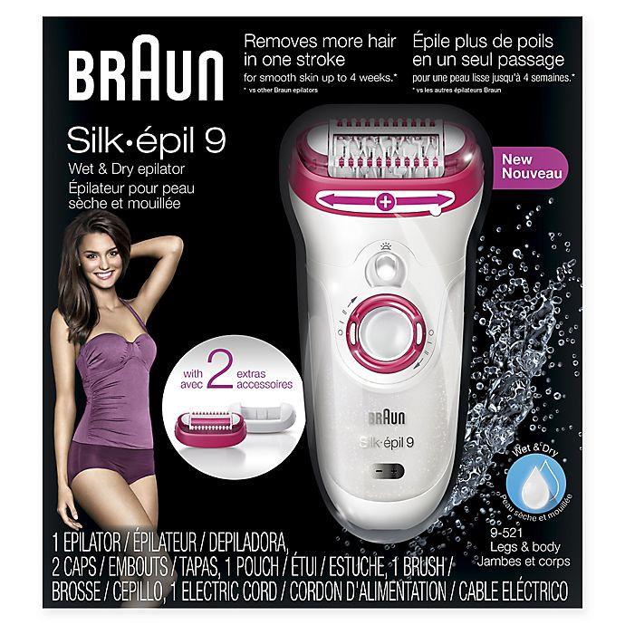 Braun Silk-épil 9 Wet and Dry Epilator  a33a1b246c31