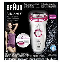 Braun Silk-épil 9 Wet and Dry Epilator