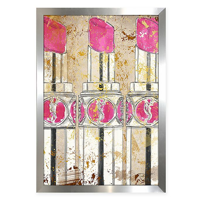 Kiss And Makeup Store: BY Jodi Kiss And Makeup Acrylic Wall Art