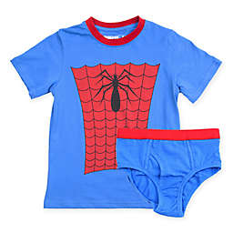 Underoos® Marvel® 2-Piece Spider-Man T-Shirt and Diaper Cover Set