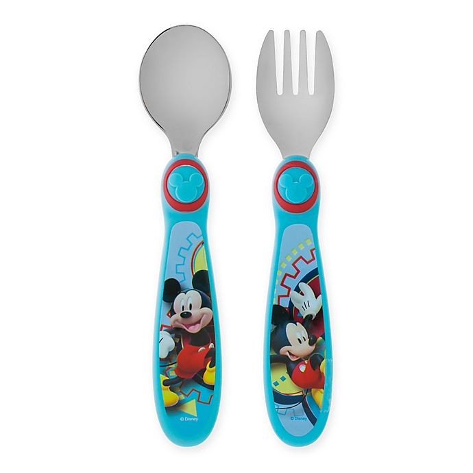 Alternate image 1 for Mickey Mouse Clubhouse Easy Grasp Flatware