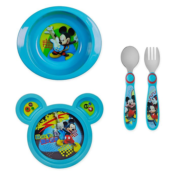 Alternate image 1 for The First Years by Tomy Mickey Mouse Clubhouse Tableware