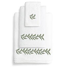 Autumn Leaves Turkish Cotton Bath Towel