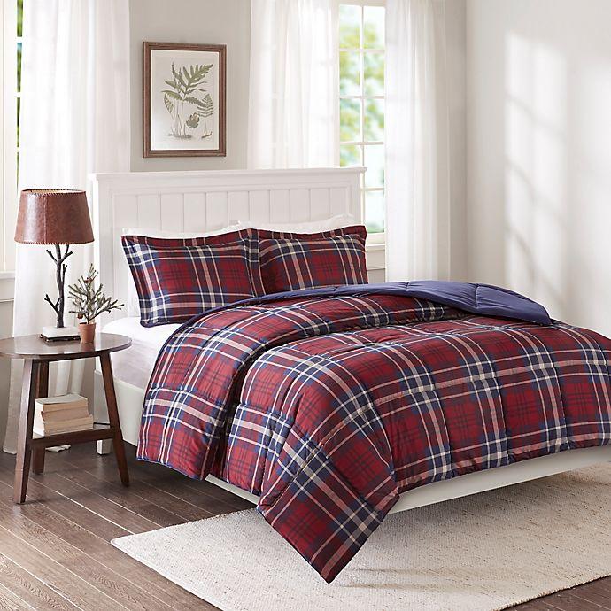 Alternate image 1 for Madison Park Essentials Bernard 3M Scotchgard Down Alternative Twin/Twin XL Comforter Set