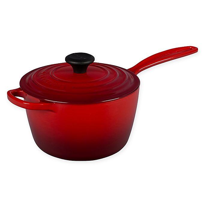 Alternate image 1 for Le Creuset® Signature 2.25 qt. Covered Saucepan