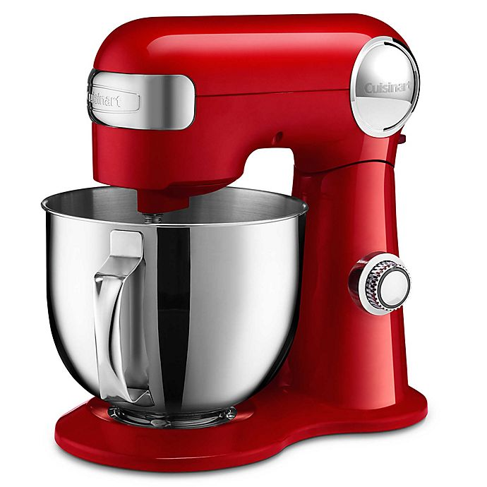Alternate image 1 for Cuisinart® 5.5 qt. Stand Mixer in Red
