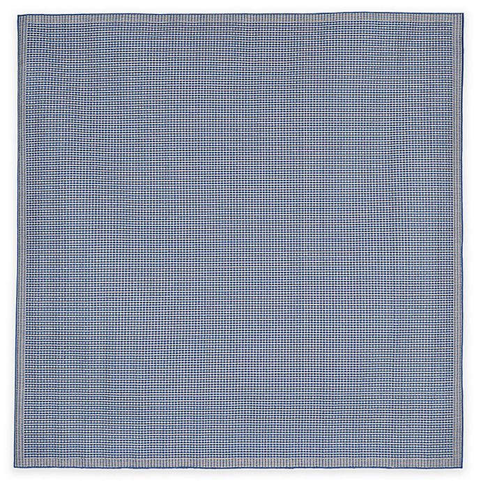 Alternate image 1 for Liora Manne Terrace 7-Foot 10-Inch Square Texture Indoor/Outdoor Area Rug in Blue