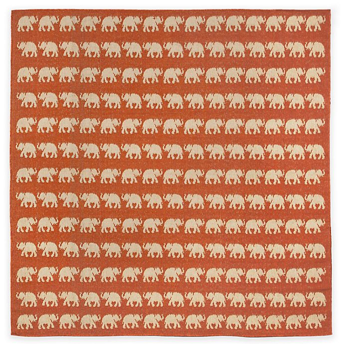 Buy Liora Manne Terracotta Elephant 7 Foot 10 Inch Round