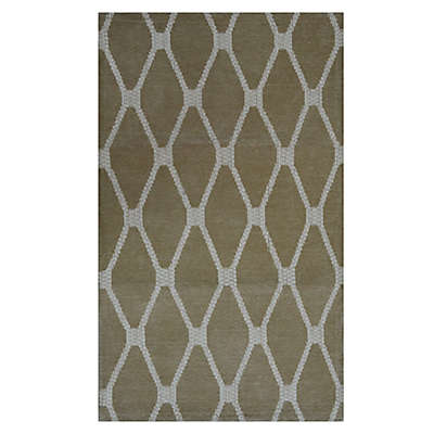 Tapestry 2-Foot 6-Inch x 4-Foot Accent Rug in Sand