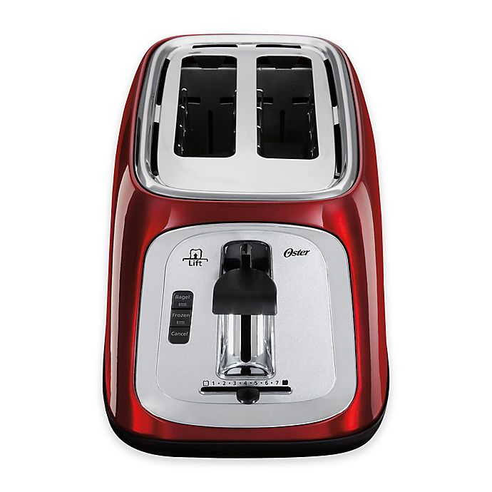 Oster 2 Slice Toaster Red At Oster Com: Oster® 2-Slice Extra Wide Toaster In Red