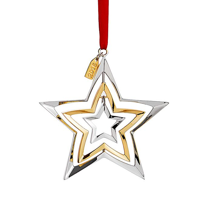 Nambe 2016 Annual Dated Christmas Ornament | Bed Bath & Beyond