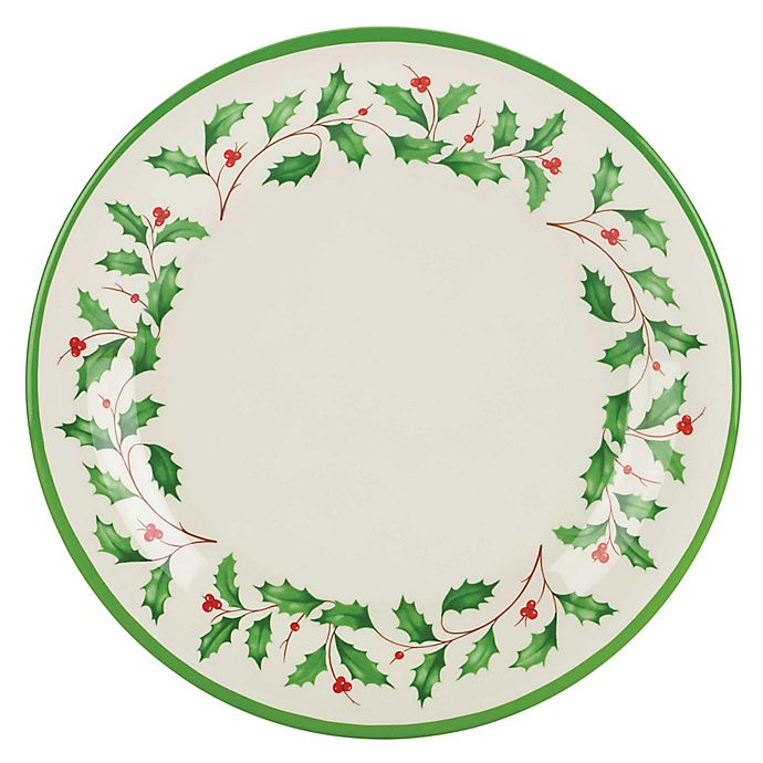 Alternate image 1 for Lenox® Holiday® Melamine Dinner Plates (Set of 4)