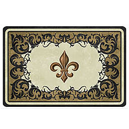 The Softer Side By Weather Guard Trade Dresden Fleur Kitchen Mat