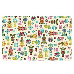 The Softer Side by Weather Guard™ Folk Angels Kitchen Mat