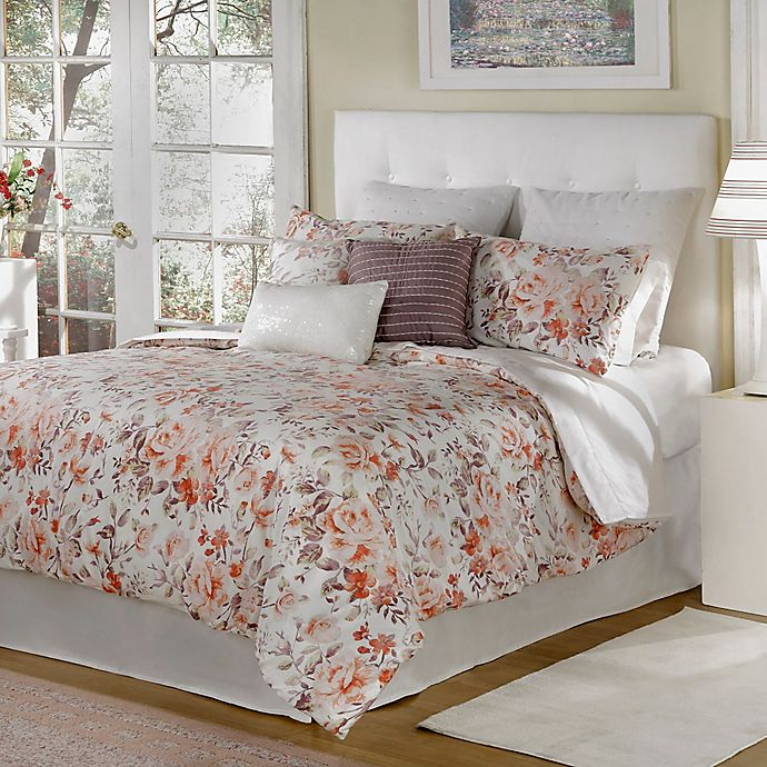 Alternate image 1 for Bed Inc. Antoinette King Comforter Set in Orange