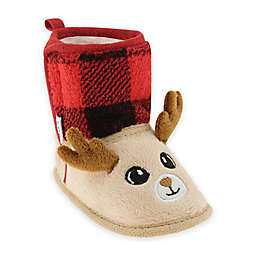 Capelli New York Soft Reindeer Boot in Red/Plaid