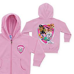 Nick Jr.™ PAW Patrol Rescue Pups Name Badge Zip-Up Hoodie in Pink