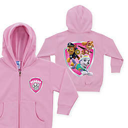 Nick Jr.™ PAW Patrol Rescue Pups Name Badge Size 5-6T Zip-Up Hoodie in Pink