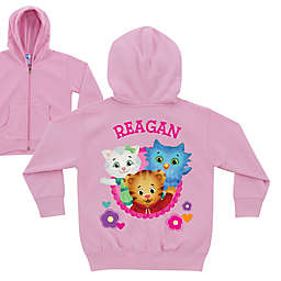 Daniel Tiger's Neighborhood Zip-Front Hoodie in Pink