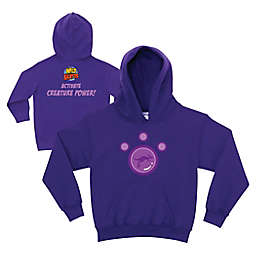 Wild Kratts Kangaroo Power Zip-Front Hoodie in Purple