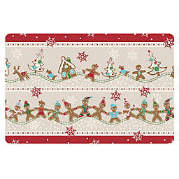The Softer Side by Weather Guard™ Ginger Village Kitchen Mat