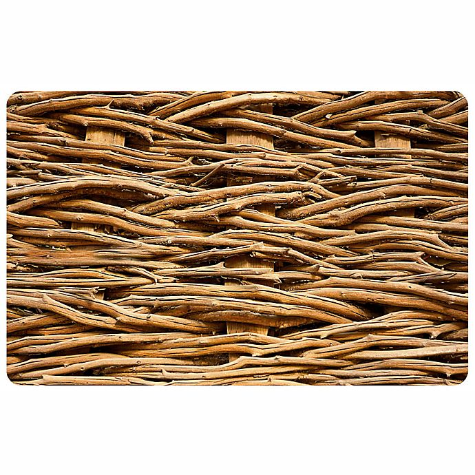 Alternate image 1 for The Softer Side by Weather Guard™ 23-Inch x 36-Inch Hedgerow Kitchen Mat